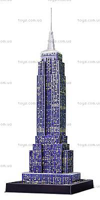 3D Пазл-ночник «Ночной Empire State Building», 12566, іграшки