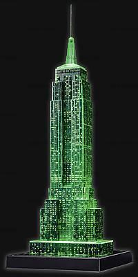 3D Пазл-ночник «Ночной Empire State Building», 12566, детский