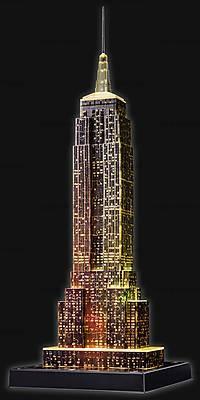 3D Пазл-ночник «Ночной Empire State Building», 12566, Украина