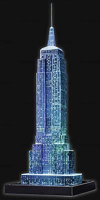 3D Пазл-ночник «Ночной Empire State Building», 12566, набор