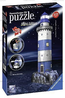 3D Пазл-ночник «Ночной маяк», 12577, фото
