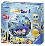 3D Пазл Ravensburger «Подводный мир», 72 элемента, 12128, купить