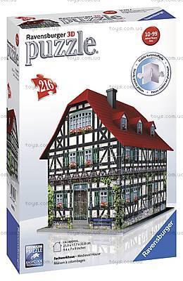 3D Пазл Ravensburger «Средневековый дом», 12572, фото