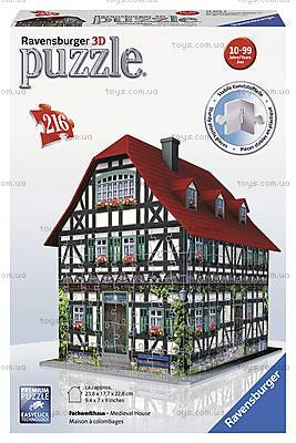 3D Пазл Ravensburger «Средневековый дом», 12572