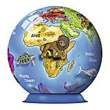 3D Пазл Ravensburger «Земной Шар», 72 элемента, 12126, купить