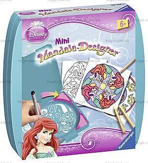 Набор для рисования Ravensburger «Мини Мандала: Русалочка», 29750, игрушки