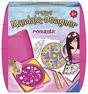 Набор для рисования Ravensburger «Мини Мандала: Романтика», 29752, купить