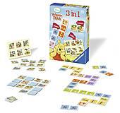 Настольная игра Ravensburger 3-в-1 «Винни», 22192, купить