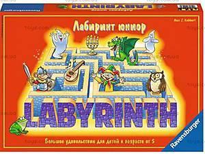 Настольная игра Ravensburger «Детский лабиринт», 21093