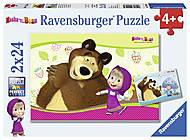 Пазл Ravensburger «Маша и Медведь», 09046R, купить