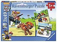 Детский пазл Ravensburger 3х49 «Щенячий патруль», 09239_0, купить