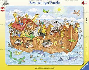 Пазл в рамке Ravensburger «Большой Ноев ковчег», 06604R