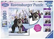 Пазл XXL Ravensburger «Холодное сердце», 100 элементов, 10557