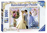 Пазл-XXL Ravensburger «Дисней. Золушка», 100 элементов, 10566, фото