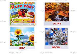 Раздаточные карточки«Времена года», 13107002У