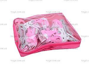 Раздвижные ролики, розовые, F1-K17 34-37, игрушки