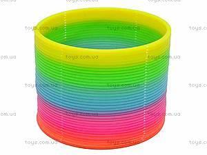 Разноцветная игрушка-пружинка, 40-8, купить