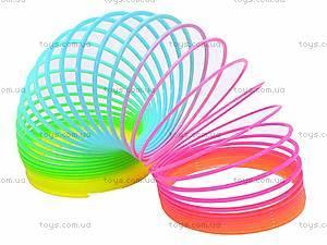 Разноцветная игрушка-пружинка, 40-8