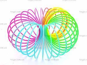 Разноцветная игрушка-пружинка, 40-8, отзывы
