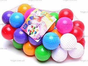 Разноцветные шары в сетке, 40 штук, 026, купить
