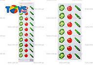 Разрезной материал «Овощи», 659, фото