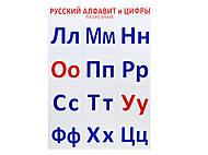 Разрезной материал «Русский алфавит и цифры», 2992а, фото