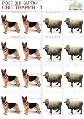 Разрезные картинки «В мире животных», 68937