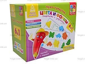 Развивающая игра «Цвета и формы», VT4207-17, магазин игрушек