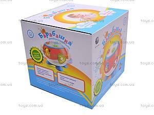 Развивающая игрушка «Барабашка», BA2006, фото