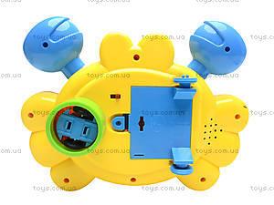 Развивающая игрушка «Краб», 5088D, магазин игрушек