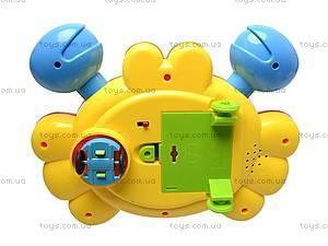 Развивающая игрушка «Краб», 5088D, игрушки