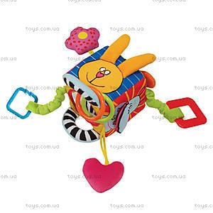 Развивающая игрушка-кубик «Забавные зверушки», 10765