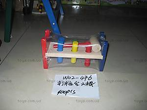 Развивающая игрушка «Молоток», W02-476