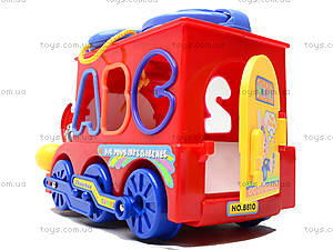 Развивающая игрушка «Паровоз», 8810, игрушки