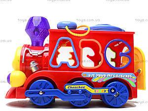 Развивающая игрушка «Паровоз», 8810, детские игрушки
