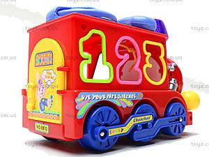 Развивающая игрушка «Паровоз», 8810, магазин игрушек