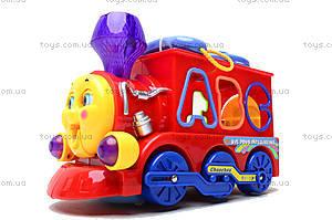 Развивающая игрушка «Паровоз», 8810, toys.com.ua