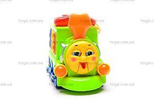 Развивающая игрушка «Паровоз», 8810, фото