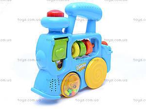 Развивающая игрушка «Паровозик», 1374E (765157