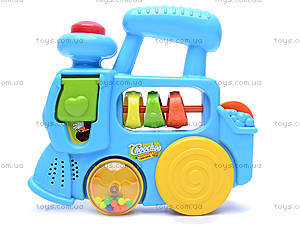 Развивающая игрушка «Паровозик», 1374E (765157, купить