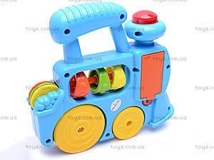 Развивающая игрушка «Паровозик», 1374E (765157, цена