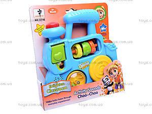 Развивающая игрушка «Паровозик», 1374E (765157, toys.com.ua