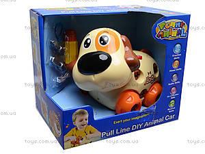 Развивающая игрушка «Собака-конструктор», 628D, отзывы