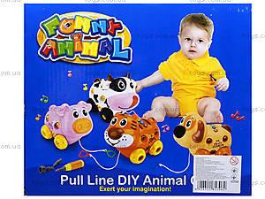 Развивающая игрушка «Собака-конструктор», 628D, цена