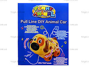 Развивающая игрушка «Собака-конструктор», 628D, детские игрушки
