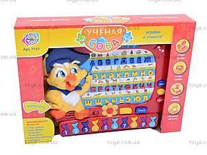 Развивающая игрушка «Ученая сова», 7157, цена
