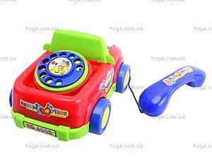 Развивающая каталка-телефон, JS6002, купить
