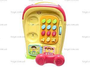 Развивающий домик-телефон, 586A (765895), фото