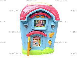 Развивающий домик-телефон, 586A (765895), игрушки