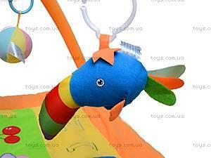 Развивающий коврик, с погремушками, 898-24B, детские игрушки